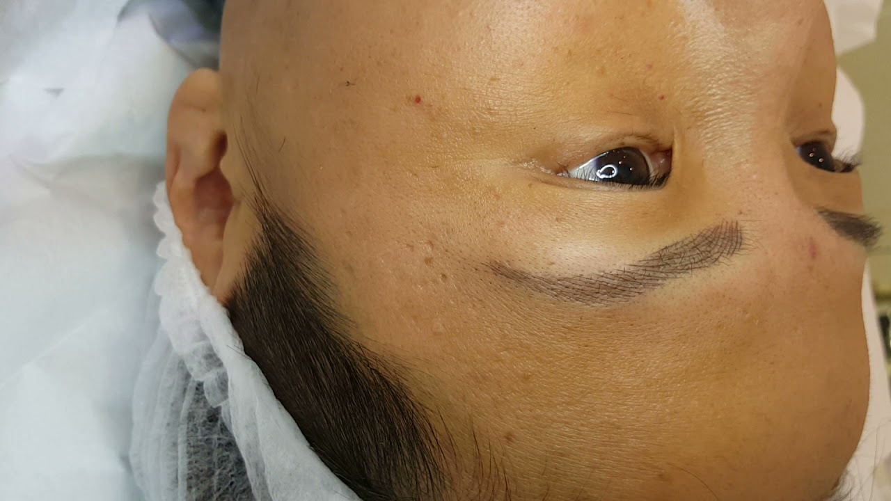 Oriental Microblading Eyebrows by El truchan @ Perfect Definition
