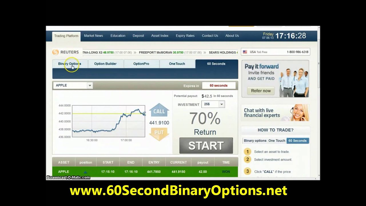 Tag : account « Binary Options Bot Reviews