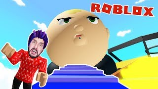 Roblox: ENTKOMME BEFORE RIESEN BABY! KAAN LOCKED UP WITH THE CRAZY BABY! Obby German