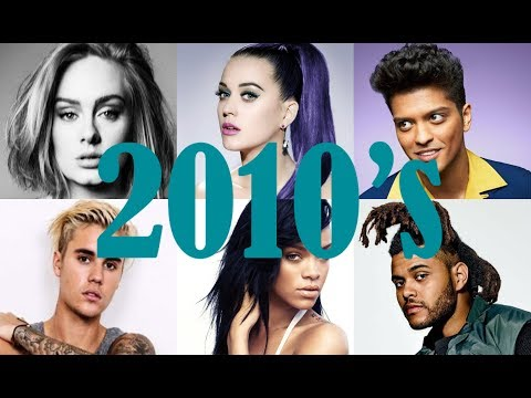 Billboard Top 100 Songs of 2010s