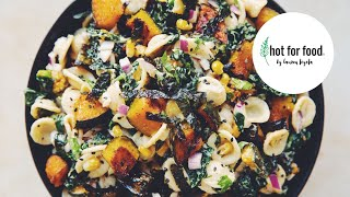 Japanese pasta salad with roasted kabocha | RECIPE?! Ep #33 (hot for food)