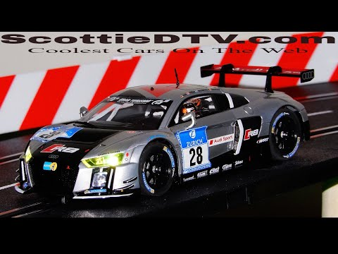 Carrera Digital 132 Audi R8 Race Car Review ScottieDTV International Raceway