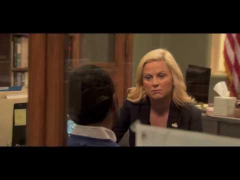 Tom tells Leslie about his divorce