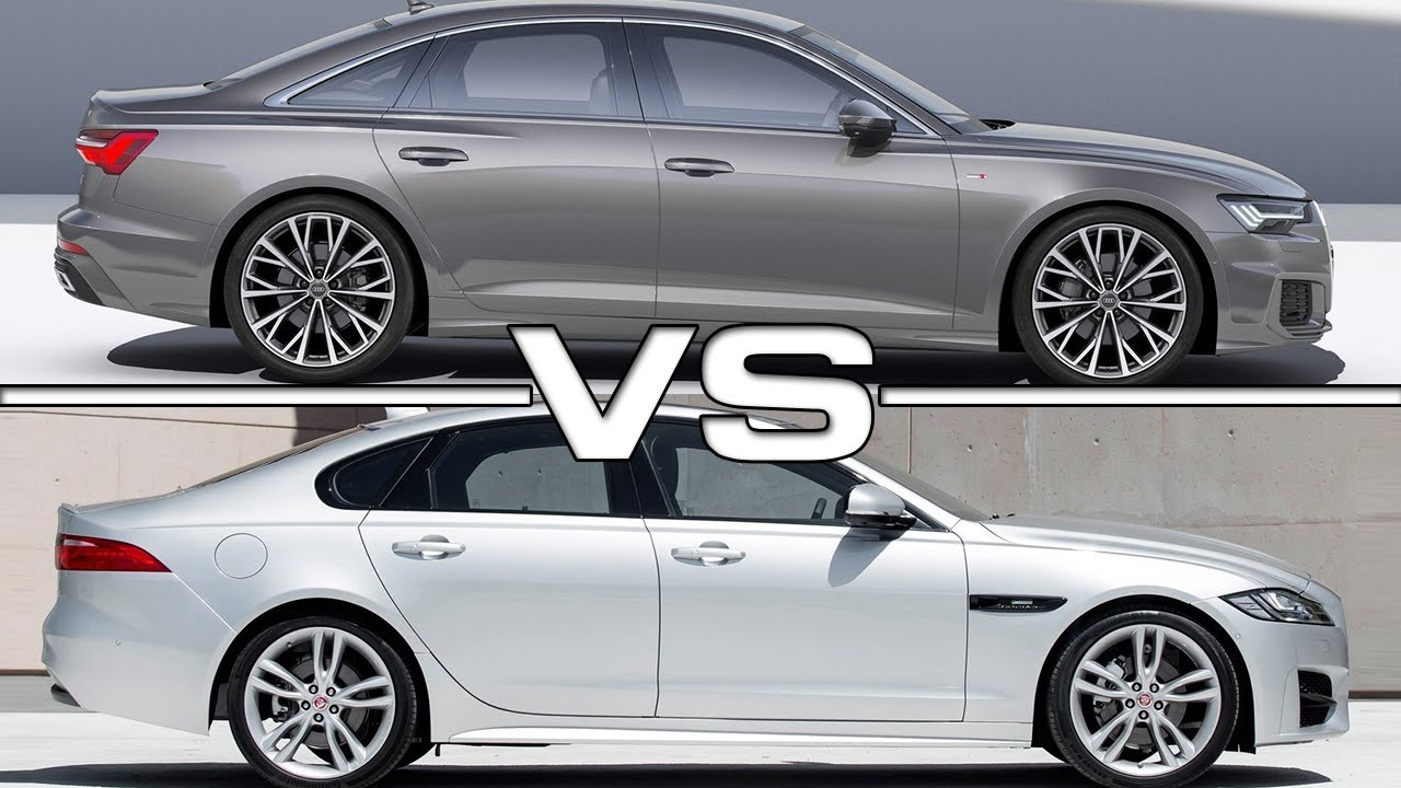 2019 audi a6 vs 2018 jaguar xf