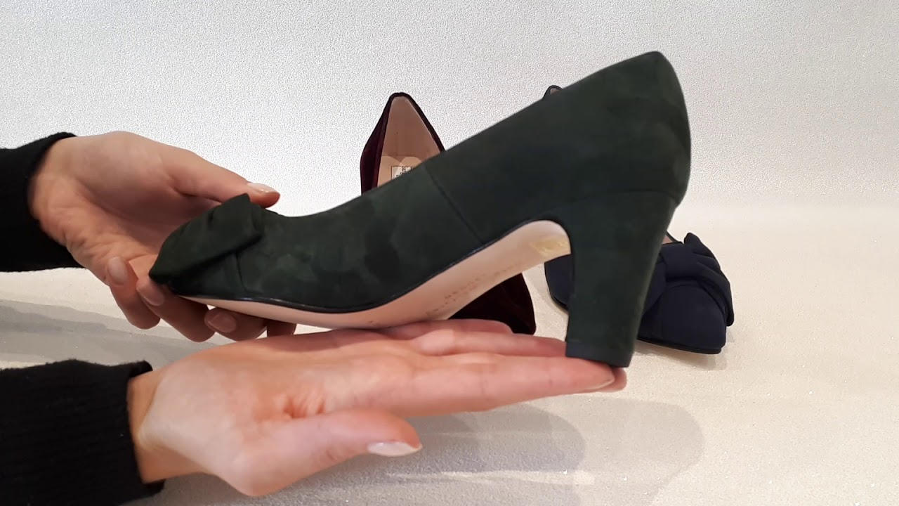 bbdf7106fe3d Sargasso   Grey Camilla Extra Wide Fit Court Shoe - YouTube