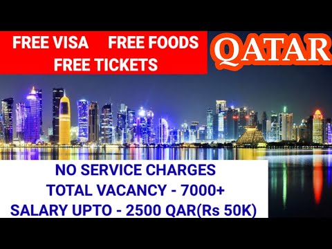 Free Recruitment job vacancy for Qatar 2021 // No service charge job vacancy for Qatar/drivers job.