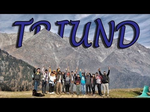 Delhi - Mcleodganj - Triund - Laka Glacier | Part 2: Trek To Triund | Himalayan Travel Vlog