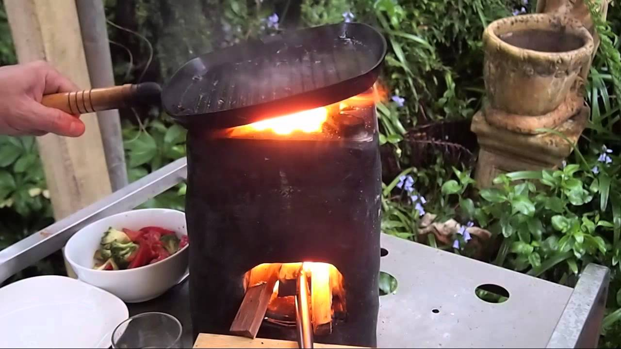 Unity Rocket Stove Cooking Prepper Developing World Or
