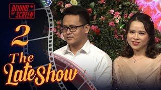 THE LATE SHOW - BTS #2 | Cặp đôi TÌNH BỂ BÌNH có thù với GIẢM CÂN lúng túng bị ép HÔN ĐI HÔN LẠI 😍