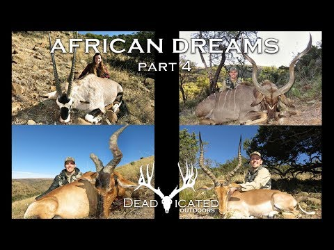 Hunting Free Ranging Kudu, Gemsbok, Impala, & Red Hartebeest In Africa