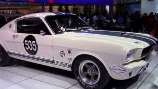 1965 Mustang Shelby GT350-R walk around look and features