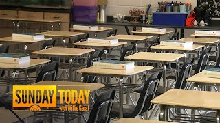 As Schools Reopen During The Pandemic, What Is The Burden On Teachers? | Sunday TODAY