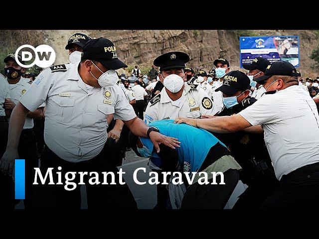 Guatemala cracks down on US-bound migrant caravan   DW News