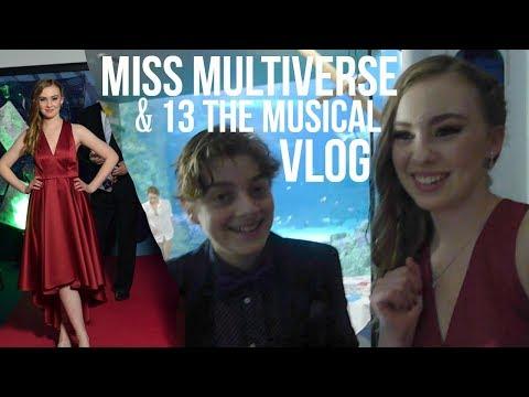 MISS MULTIVERSE AUSTRALIA GRAND FINAL & 13 THE MUSICAL VLOG  Olivia McNamara
