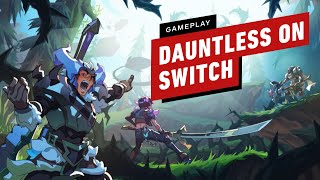 5 Minutes of Dauntless Gameplay on Nintendo Switch