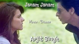 Gambar cover Janam Janam Lirik dan terjemahan | Arjit Singh