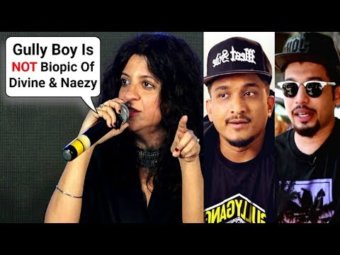 Gully Boy Director Zoya Akhtar SH0CKING Revelation About Divine And Naezy
