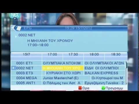 Αποκωδικοποιητές MPEG4 - Ρυθμίσεις & λειτουργίες