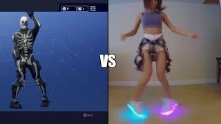Fortnite Electro Shuffle vs Real Life Electro Shuffle