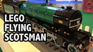 Huge LEGO Flying Scotsman 1923 Historic Train