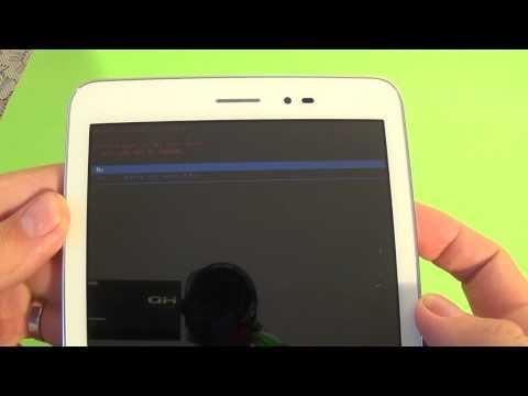 Huawei MediaPad T1 hard reset