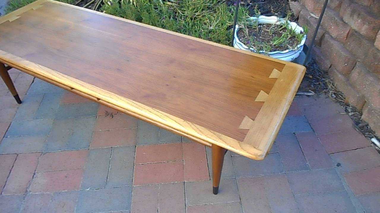 Restoration Of Lane Acclaim Coffee Table Part 3 Youtube