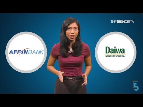 EVENING 5: Daiwa fails to buy into Affin Hwang IB