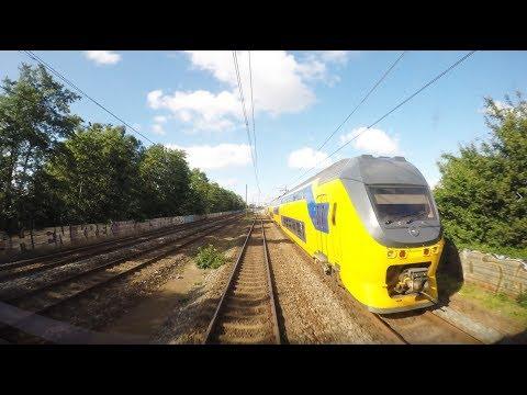 Cabinerit 4K Rotterdam CS – Schiphol Airport – Lelystad Centrum met IC 2458 op 12-07-2017 [CAB VIEW]