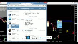 How to accurately enter a winning Forex trade with a signal!