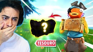 I FOUND THE SECRET TREASURE OF THE FORTNITE!