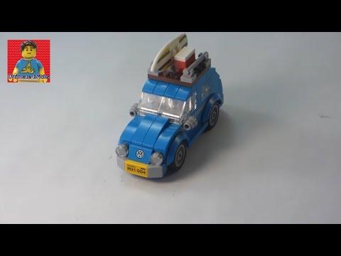 LEGO Mini Volkswagen Beetle Review set 40252