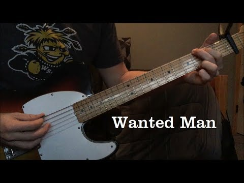 Wanted Man by Johnny Cash - Bob Wootton Instrumental