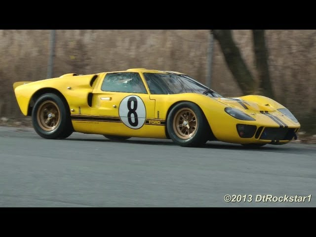 Original Ford GT40 Mk II driving @ Simeone Museum