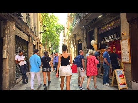 Walking Barcelona's Sant Pere, Santa Caterina and La Ribera Quarter