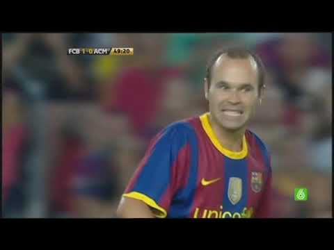 Season 2010/2011. FC Barcelona - AC Milan - 1:1, penalty shoot-out 3:1 (highlights)