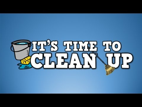 It's Time to Clean Up!   (clean up song for kids)