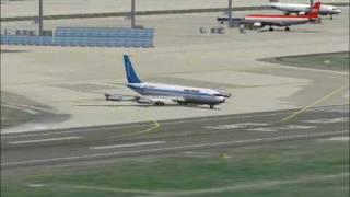 FS2004 Somali Airlines 30th Anniversary 1960-1990 Last time at Frankfurt am Main