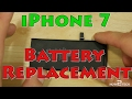 iPhone 7 Battery Replacement - Ripped Adhesive
