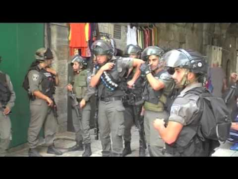 Military perspective - Not an intifada yet
