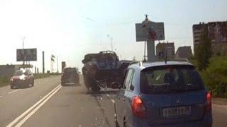 Police Car Rollover