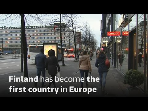 Finland trials basic income for the unemployed