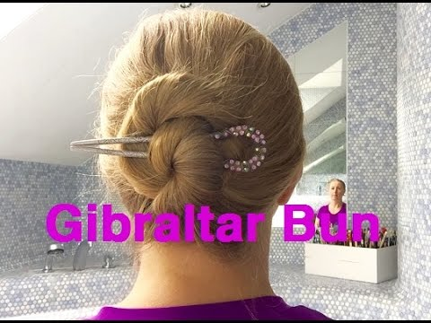 Frisur Anleitung Gibraltar Bun