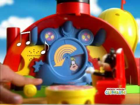 Casa mickey mouse club house sobres youtube - Juguetes la casa de mickey mouse ...