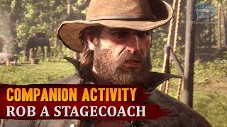 Red Dead Redemption 2 - Companion Activity #9 - Coach Robbery (Bill)
