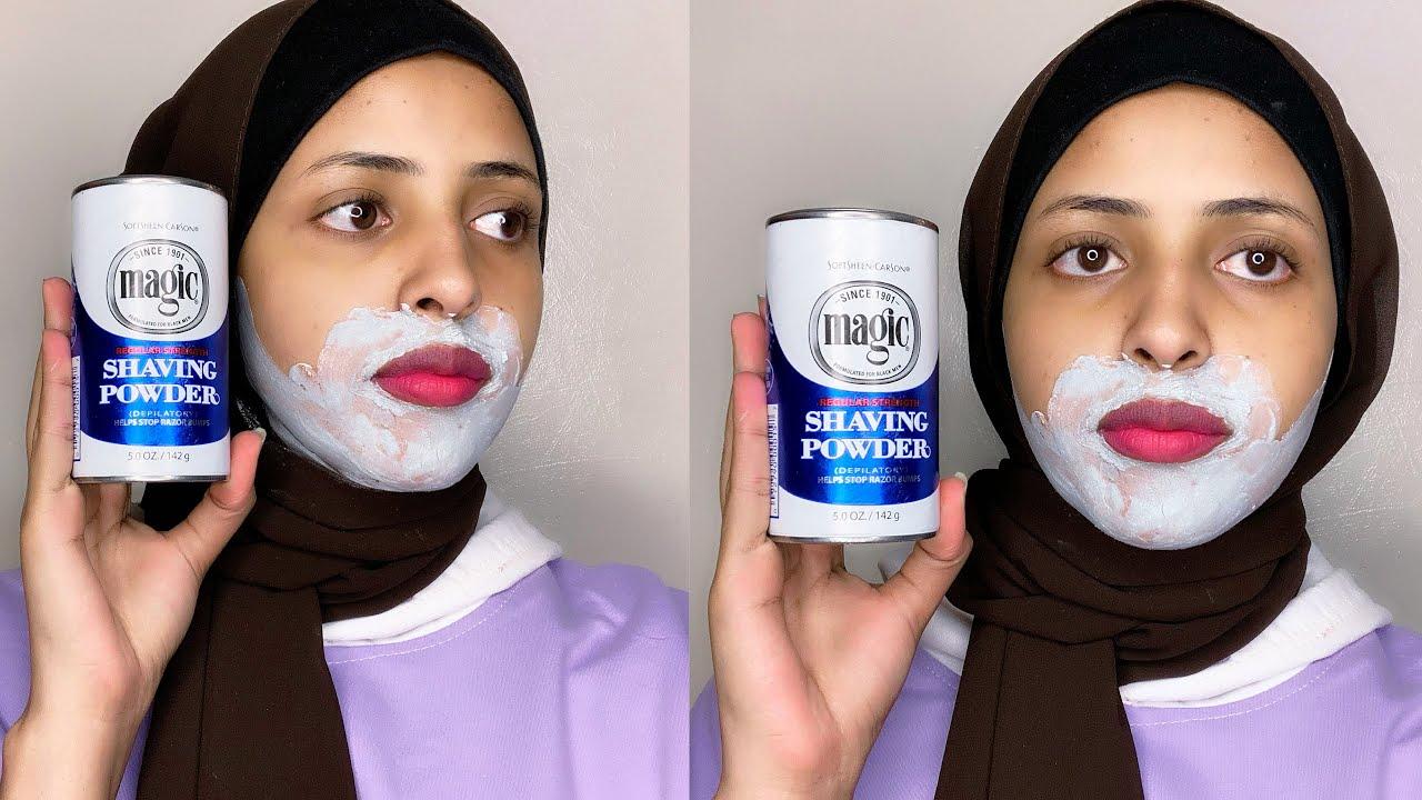 Magic Shaving Powder Hair Removal Isaga Xiir Timaha Adan Rabin By Safa Beauty Youtube