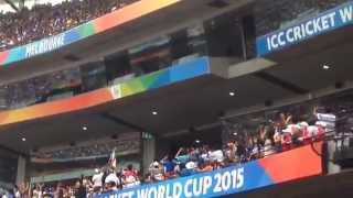 Sachin Tendulkar at MCG  2015  ICC Cricket World cup Melbourne Australia