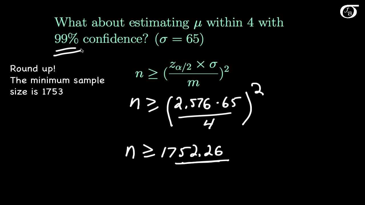 Confidence Intervals for One Mean: Determining the Required Sample ...