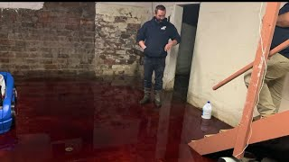 Iowa Family's Basement Gets Flooded with Animal Blood