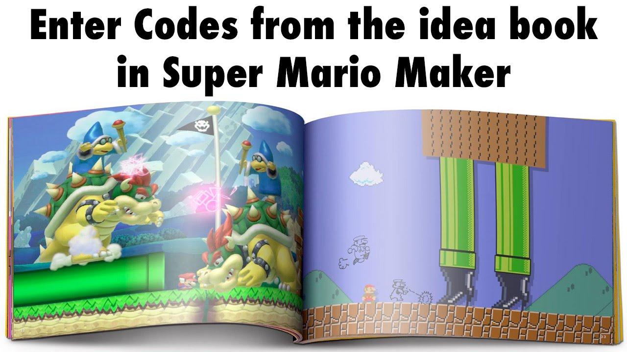 mario maker level ideas