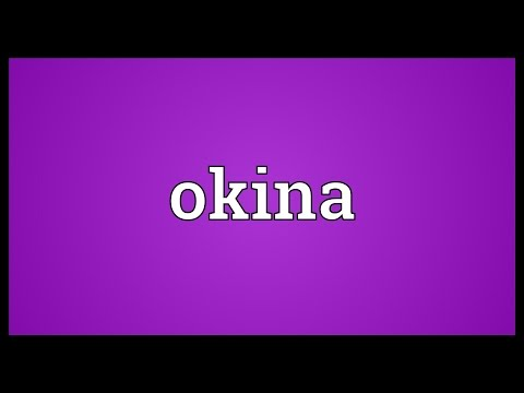 Okina Meaning